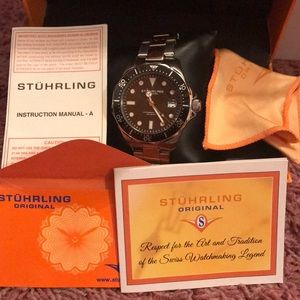 Stuhrling Original Accessories - Stuhrling Watch (Mens)